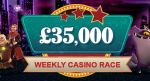 Monthly Casino Slot Races: £35k Up For Grabs!